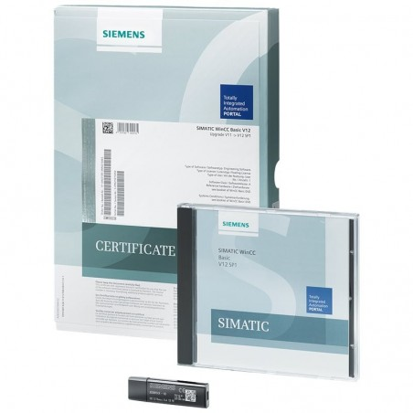 6AV2101-2AA04-0BD5 SIEMENS SIMATIC WINCC COMFORT POWERPACK FROM WINCC BASIC TO WINCC COMFORT V14 (NO CHANGE OF VERSION)