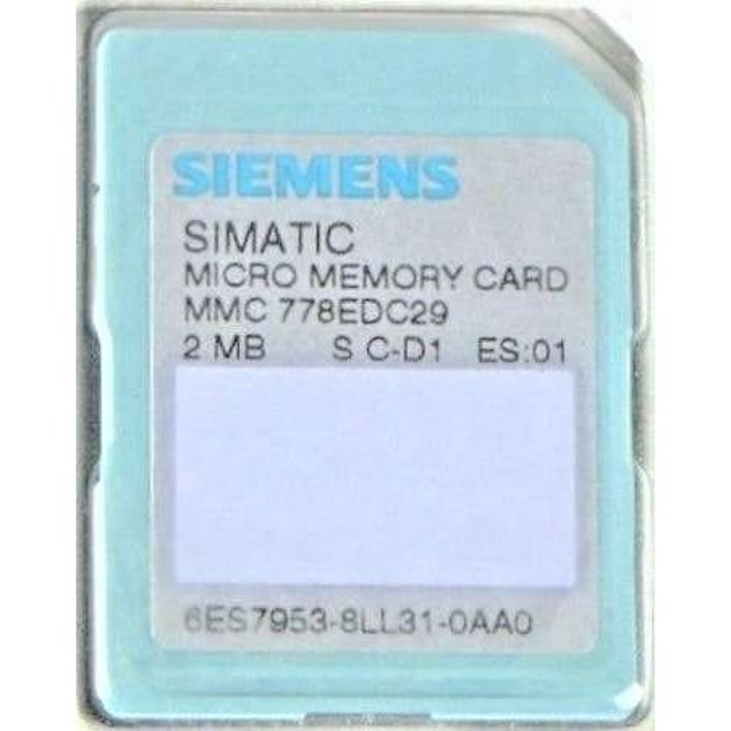 6ES7953-8LL31-0AA0 SIEMENS SIMATIC S7 MICRO MEMORY CARD