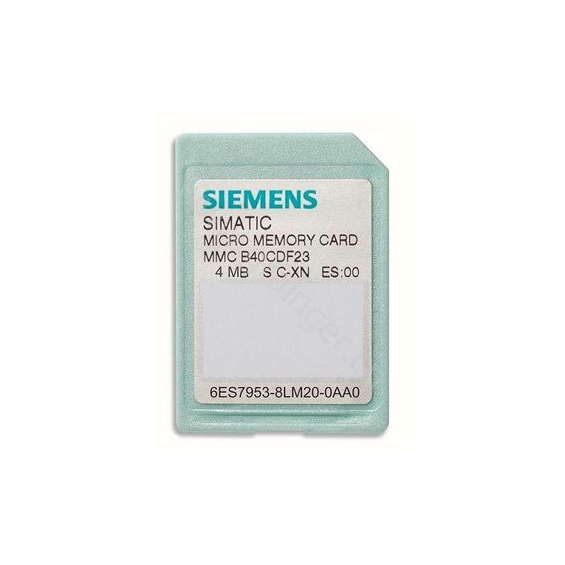6ES7953-8LM20-0AA0 SIEMENS SIMATIC S7-300 MICRO MEMORY CARD C7/ET 200