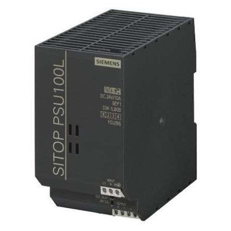Siemens 6EP1334-1LB00 SITOP PSU100L 24 V/10 A STABILIZED POWER SUPPLY