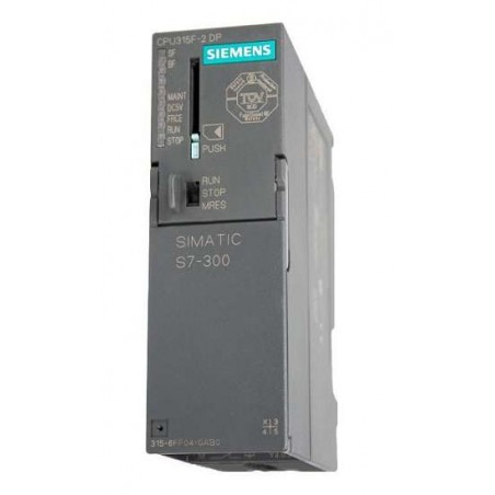 6ES7315-6FF04-0AB0 SIEMENS SIMATIC S7-300 CPU 315F-2DP FAILSAFE